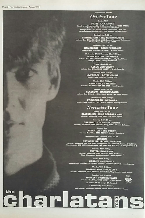 The Charlatans - Tour