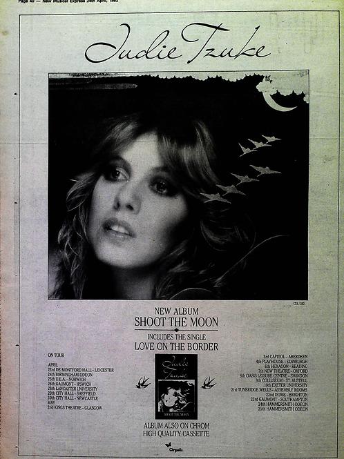 Judie Tzuke – Shoot The Moon