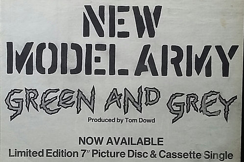 New Model Army – Green And Grey