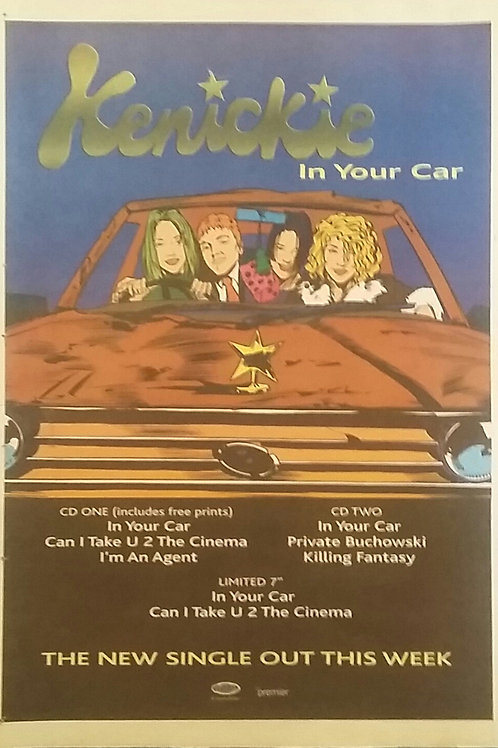 Kenickie – In Your Car