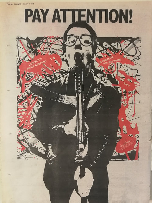 Elvis Costello - Pay Attention!
