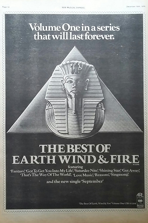 Earth Wind & Fire – The Best Of