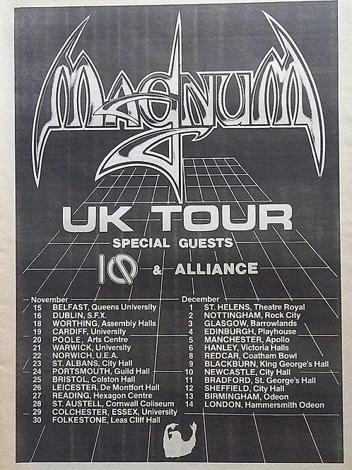 Magnum - Uk Tour