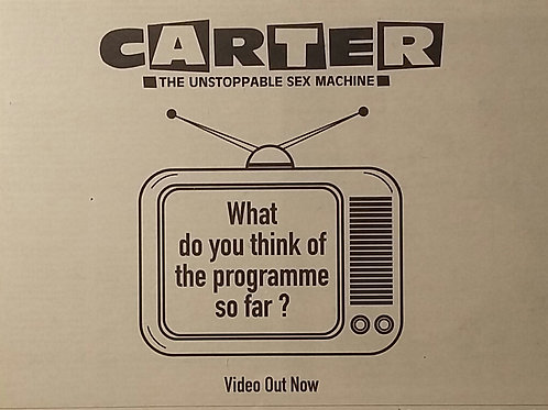 Carter The Unstoppable Sex Machine - What Do You Think Of ...