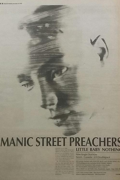 Manic Street Preachers - Little Baby Nothing