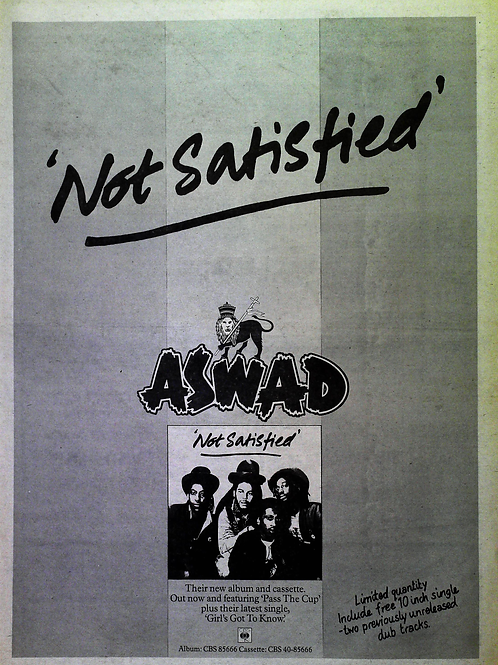 Aswad - Not Satisfied