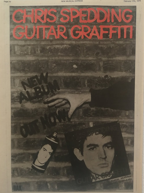 Chris Spedding - Guitar Graffiti
