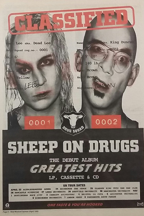 Sheep On  Drugs - Greatest Hits
