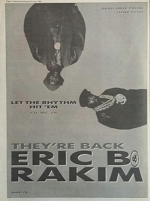 Eric B & Rakim - Let The Rhythm Hit 'Em