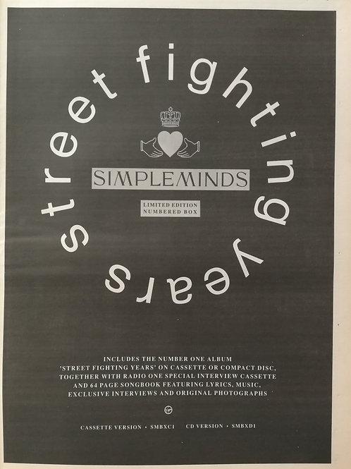 Simple Minds - Street Fighting Yeers