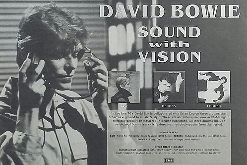 David Bowie - Sound With Vision