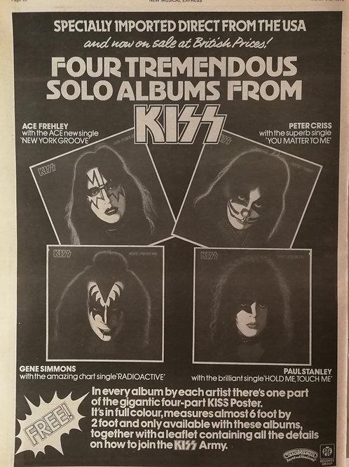 Kiss - Four Tremendous Solo Album