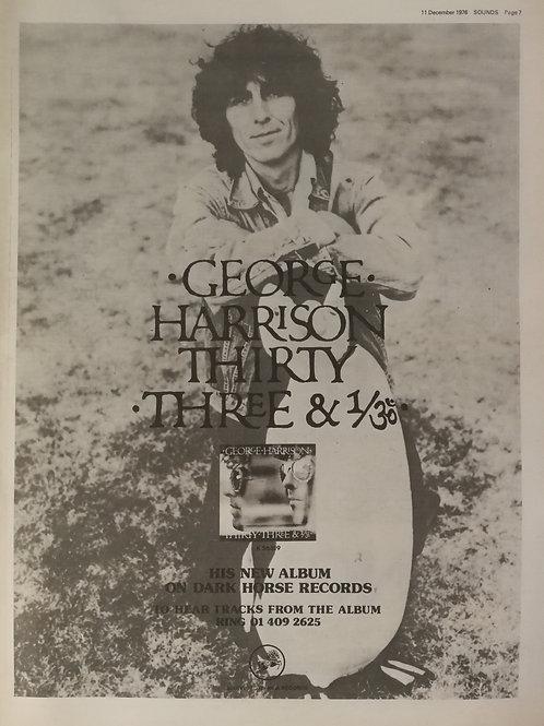 George Harrison - Thirty Three