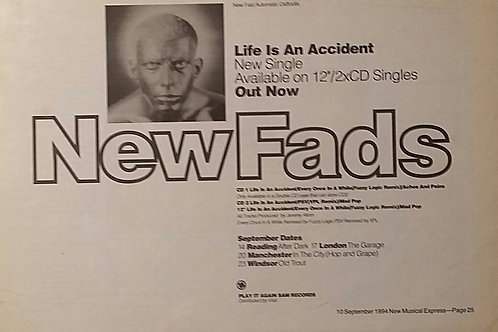 New Fads ‎– Life Is An Accident