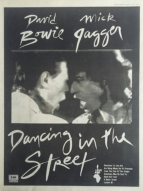 David Bowie / Mick Jagger - Dancing In The Street