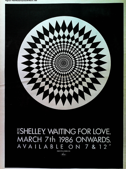 Pete Shelley - Waiting For Love