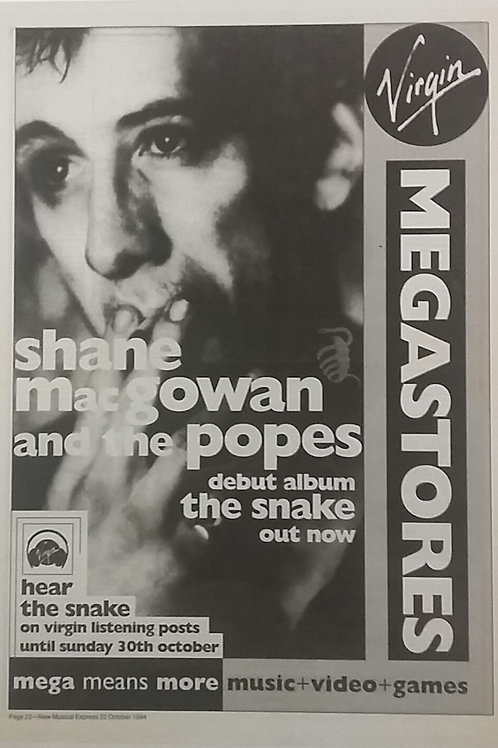 Shane Mac Gowan And The Popes - The Snake