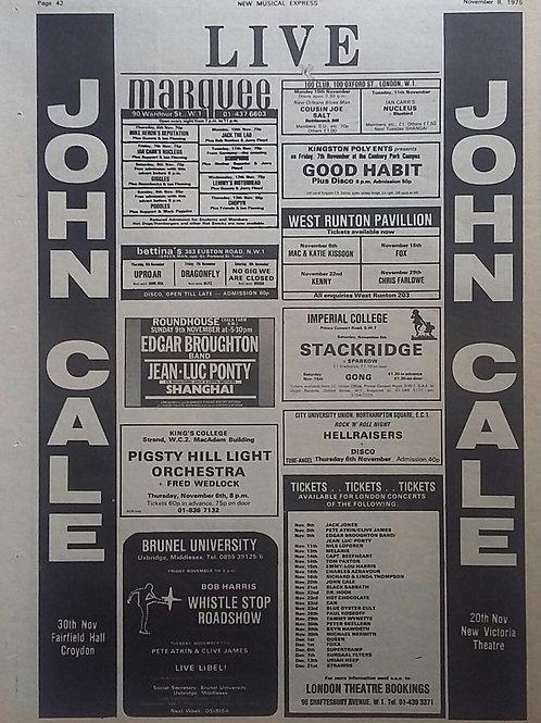 John Cale - Live