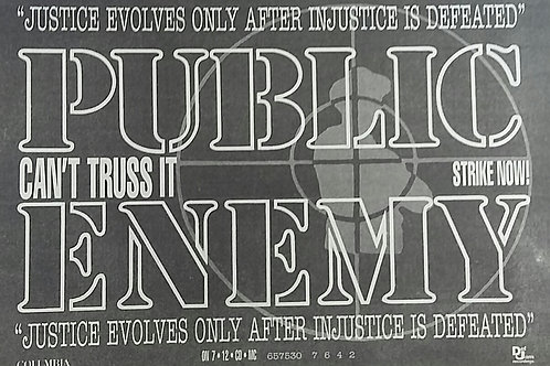 Public Enemy - Justice Evolves