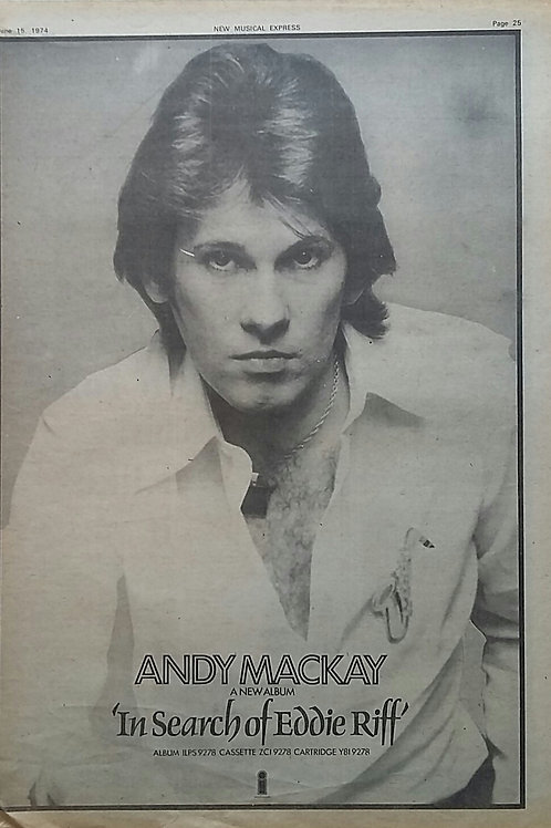 Andy Mackay - In Search Of Eddie Riff