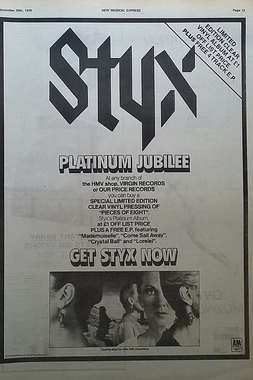 Styx - Platinum Jubilee