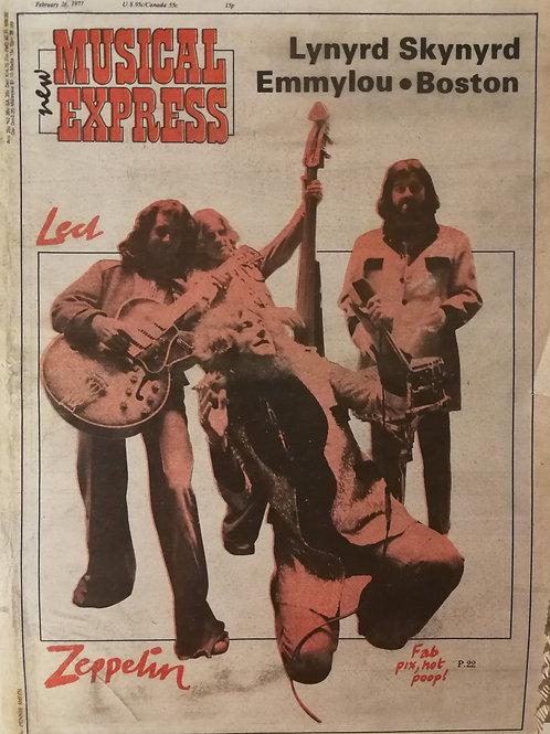 New Musical Express - Led Zeppelin