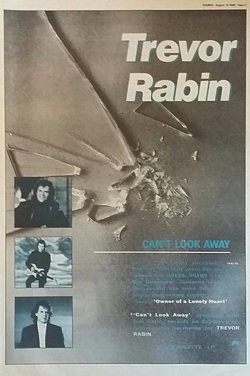 Trevor Rabin - Can't Look Away