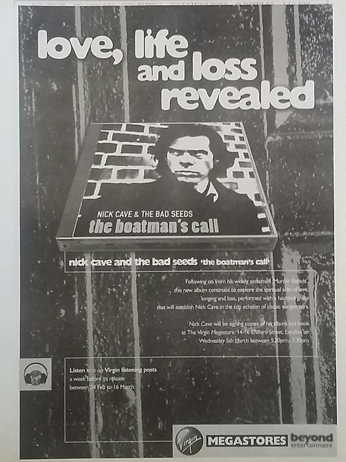 Nick Cave - The Boatman's Call Release