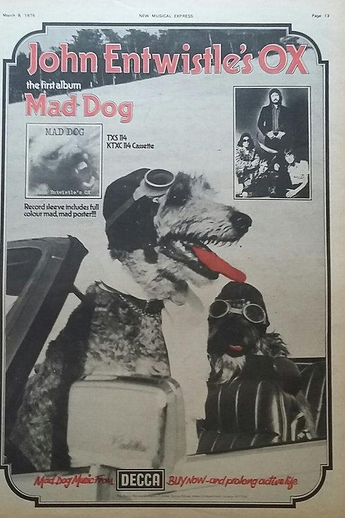 John Entwistle's Ox – Mad Dog