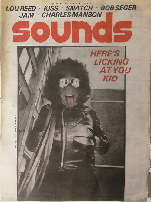 Sounds - Kiss