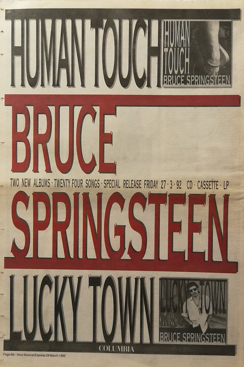 Bruce Springsteen – Human Touch / Lucky Town