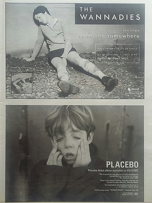 The Wannadies / Placebo - Someone Somewhere - Placebo