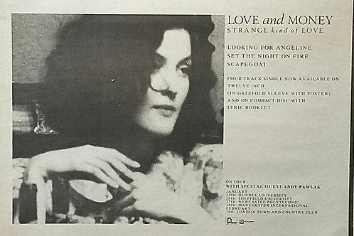 Love And Money - Strange Kind Of Love