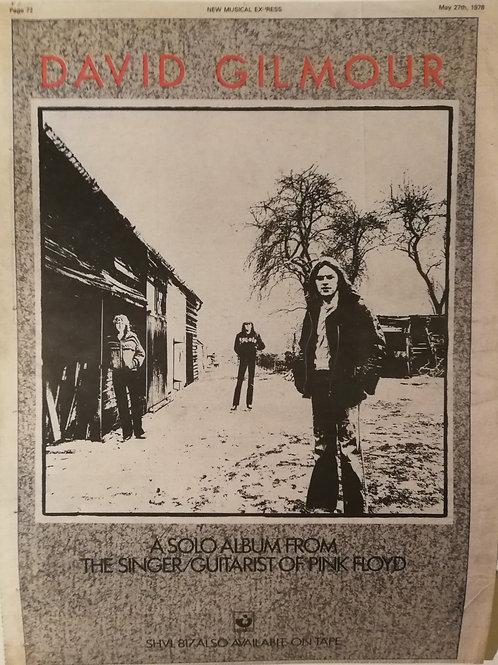 David Gilmour - A solo Album