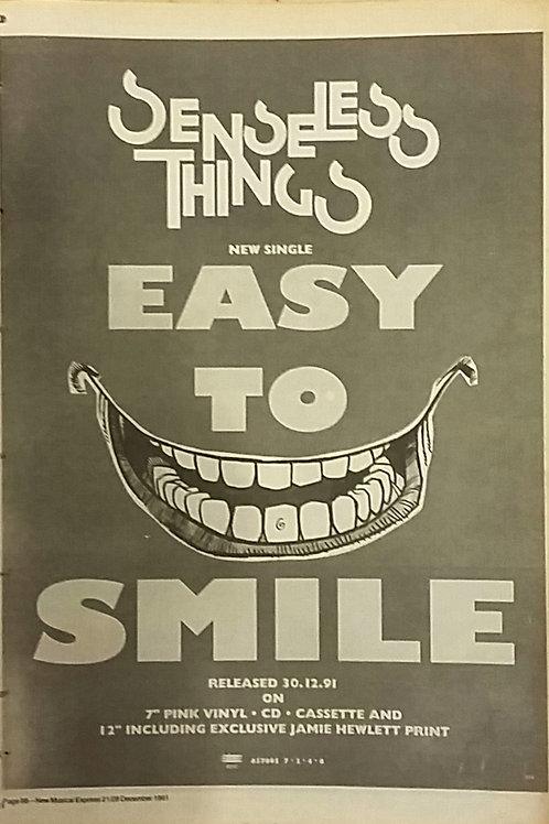 Senseless Things – Easy To Smile