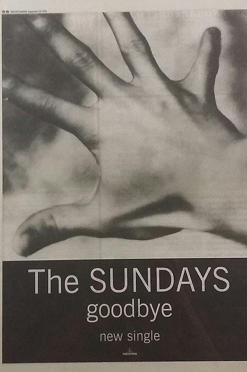 The Sundays - Goodbye