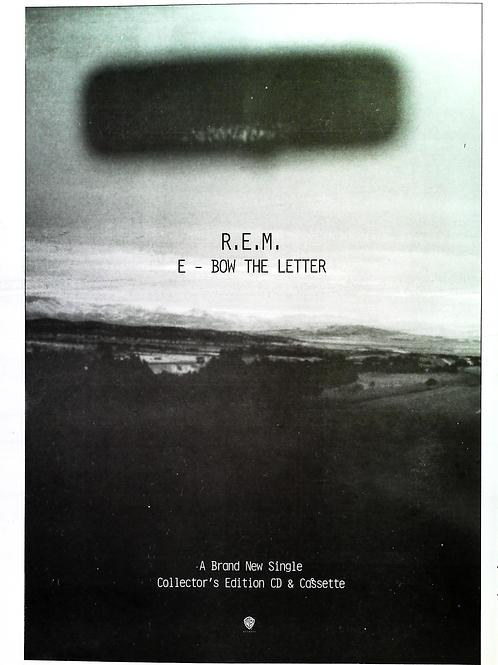 Rem - E Bow The Letter