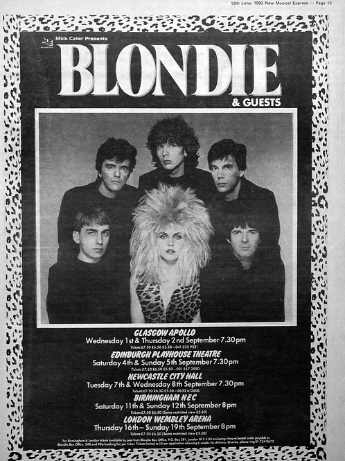 Blondie & Guest