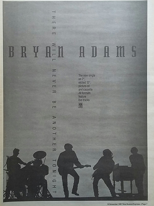 Bryan Adams - There Will Never Be Another Tonight