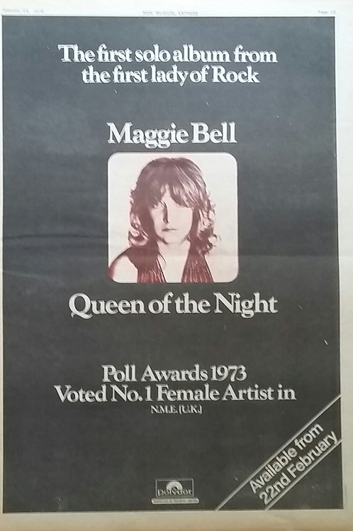 Maggie Bell ‎– Queen Of The Night