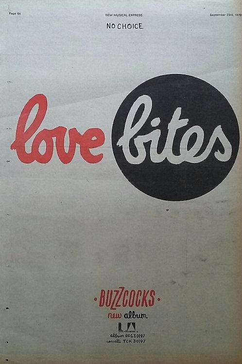 Buzzcocks – Love Bites