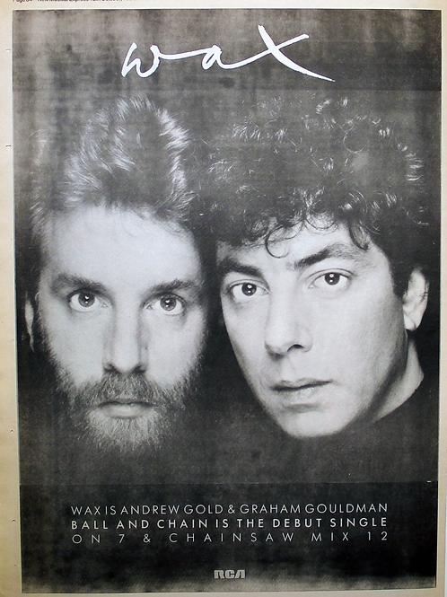 Waxis Andrew Gold & GrahamGouldman