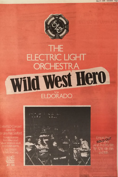 The Electric Light Orchestra - Wild West Hero