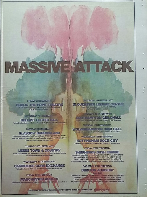 Massive Attack - Tour