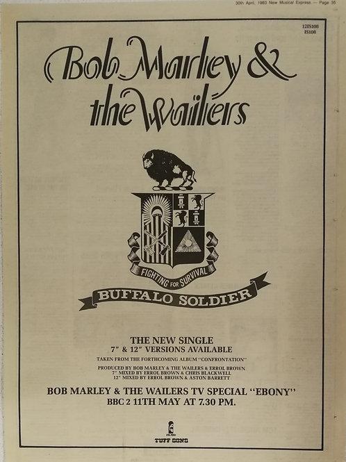 Bob Marley - Buffalo Soldiers
