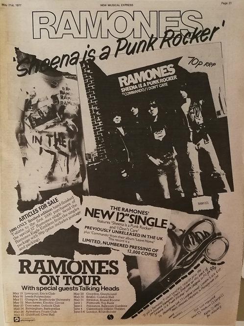Ramones - In Tour