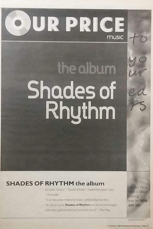 Shades Of Rhythm ‎– Shades Of Rhythm