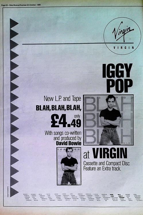 Iggy Pop - Blah Blah Blah