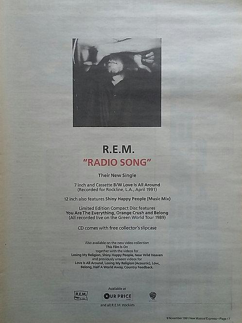 Rem - Radio Song