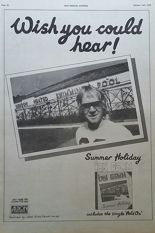 Ian Gomm - Summer Holiday